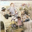 Simplicity Sewing Pattern 8471 Lillian August Soft Stuffed Rag Boy Girl Dolls Clothes