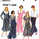 Simplicity Sewing Pattern 8480 Misses Size 6-12 Easy Pants Flared Skirt Button Front Top