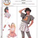 Simplicity Sewing Pattern 9214 Girls Size 7-14 Easy Knit Pullover Top Skirt Pants Garfield Transfer