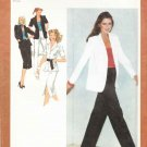 Simplicity Sewing Pattern 9314 Misses Size 6-8 Wardrobe Pants A-Line Skirt Unlined Shirt-Jacket