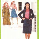 Simplicity Sewing Pattern 9341 Junior Size 5/6-7/8 A-Line Blue Jean Skirt Long Sleeve Jacket
