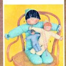 Simplicity Sewing Pattern 9544 Soft Stuffed Cuddly Dolls Three Sizes