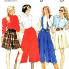 Simplicity Sewing Pattern 9787 Misses Size 6-14 Split Skirt Two Lengths Culottes Gauchos