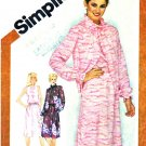 Simplicity Sewing Pattern 9945 Misses Size 10 Sleeveless Dress Long Sleeve Unlined Jacket