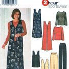 Simplicity Sewing Pattern 5919 Misses Size 14-20 Wardrobe Pullover Top Jumper Vest Pull On Pants