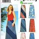Simplicity Sewing Pattern 5966 Misses Size 12-20 Easy Long Short A-line Layered Ruffled Skirts