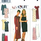 Simplicity Sewing Pattern 7905 Misses Size 4-8 Pullover Slipdress Dress Sleeve Length Options