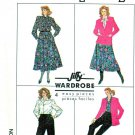 Simplicity Sewing Pattern 8250 Misses Size 20-24 Easy Wardrobe Blouse Jacket Skirt Pants