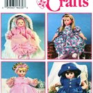 Simplicity Sewing Pattern 9286 Doll Clothes Threes Sizes Dress Panty Bonnet Hat
