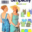 Simplicity Sewing Pattern 9752 Misses Size 12-18 Easy Summer Pull On Shorts SunTops