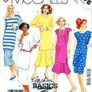McCall's Sewing Pattern 3176 Misses Size 8-12 Easy Basics Tunic Tops Straight Flared Skirts