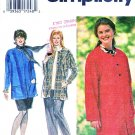 Simplicity Sewing Pattern 9787 Women's Plus Size 26W-32W Button Front Jacket Pants Skirt