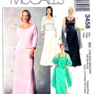 McCall's Sewing Pattern 3458 Womens Plus Size 18W-24W Two Piece Formal Dress Tops Skirts