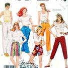 McCall's Sewing Pattern 3133 Misses' Size 10-14 Easy Basic Straight Tapered Pants Shorts