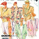 McCall's Sewing Pattern 3134 Misses' Size 8-12 Easy Unlined Long Sleeve Jacket