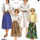 McCalls Sewing Pattern 2004 Junior Size 7/8 Learn To Sew Classic Gathered Skirt