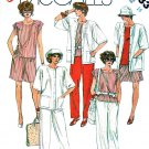 McCall's Sewing Pattern 2033 Misses' Size 16 Easy Wardrobe Top Jacket Shorts Pants Capris