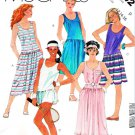 McCall's Sewing Pattern 2042 Misses' Size 12-16 Knit Tennis Dropped Waist Dress Panties