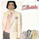 McCall's Sewing Pattern 2088 Misses' Size 20 Lined Front Button Two-Piece Sleeve Jacket