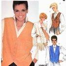 McCall's Sewing Pattern 2096 Misses' Size 18 Shari Belafonte-Harper Button Front Vests