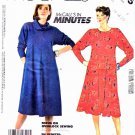 McCall's Sewing Pattern 2185 Misses Size 16-20 Long Sleeve Knit Flared Dress Cowl Collar