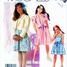 McCall's Sewing Pattern 2355 Girls' Size 10-14 Easy  Jacket Sleeveless Summer Dress