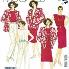 McCall's Sewing Pattern 2372 Misses' Size 12 Wardrobe Straight Skirt Top Pants Jacket