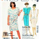 McCall's Sewing Pattern 2376 Misses Size 12-16 Easy Tie Closure Jacket Vest Straight Dress