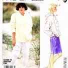 McCalls Sewing Pattern 2913 Misses Size 8 Unlined Front Button Snap Jacket Skirt Pants
