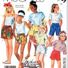 McCall's Sewing Pattern 3051 Girls Size 10 Classic Elastic Waist Pleated Front Shorts