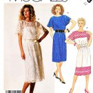 McCall's Sewing Pattern 3053 Misses' Size 10 Easy Pullover Flared Sleeve Summer Dress Slip