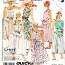McCalls Sewing Pattern 3119 Misses Size 6-10 Easy Sleeveless Summer Dress Tie Belt