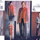 Vogue Sewing Pattern 2771 Misses Size 8-10-12 Easy Wardrobe Jacket Top Dress Skirt Pants