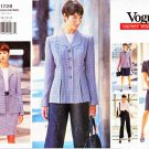 Vogue Sewing Pattern 1728 Misses Size 14-18 Easy Wardrobe Dress Straight Skirt Pants Jacket Top
