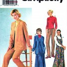 Simplicity Sewing Pattern 9874 Misses Size 14-20 Wardrobe Dress Cardigan Pants Pullover Top