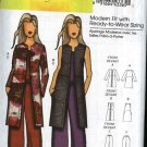 Butterick Sewing Pattern 5473 B5473 Womans Plus Size 18W-44W Slim-fitting Jacket Vest Long Pants