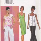 Butterick Sewing Pattern 3465 Misses Size 14-18 Easy Princess Seam Straight Dress Top Pants