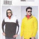 "Vogue Sewing Pattern 8842 Mens Size 40-46"" Chest  Easy Long Sleeve Jacket Hood Windbreaker"
