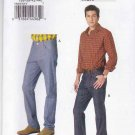"Vogue Sewing Pattern 8801 Mens Size 36-44"" Waist Blue Jeans Denim Tapered Boot Leg"