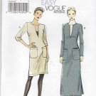 Vogue Sewing Pattern 8824 Misses Size 16-26 Easy Pullover Straight Dress Length Sleeve Options