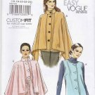 Vogue Sewing Pattern 8674 Misses Size 16-24 Easy Button Front Vest Jacket Belt