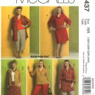 McCall's Sewing Pattern 5437 Womans Plus Size 18W-24W Wardrobe Skirt Button Front Dress Pants
