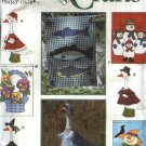 Simplicity Sewing Pattern 9019 Outdoor Seasonal Flags Lawn Geese Goose Clothing