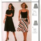 Burda Sewing Pattern 8677 Misses Size 8-10-12-14-16-18 Easy Fitted Yoke Skirts