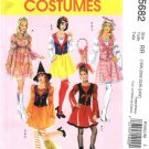 McCall's Sewing Pattern 5682 Misses Size 8-16 Costumes Pullover Dress Vest Hats