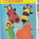 McCall's Sewing Pattern 2435 Infant Baby Sizes 13-21# Costumes Bee Lady Bug Pumpkin