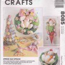 McCall's Sewing Pattern 8085 Spring Easter Bunny Eggs Decorations Centerpiece Wreath