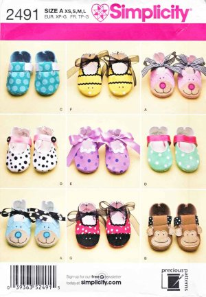 Crafts and Hobbies - Baby Shoe Patterns