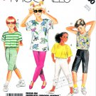 McCall's Sewing Pattern 3160 Boys' Girls' Unisex Size 7 Easy Knit Tops Pants and Shorts