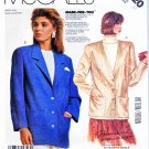 McCall's Sewing Pattern 3320 Misses' Size 12 Palmer & Pletsch Jacket Cardigan Optional Lining